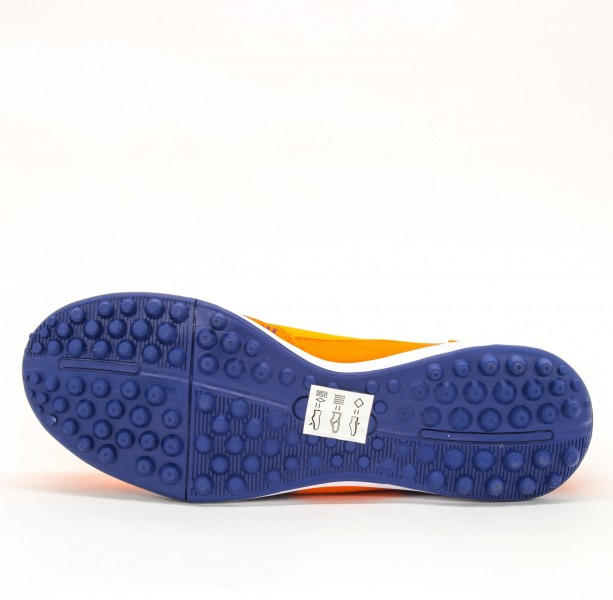 Ghete Fotbal Barbati AX8740-2 Orange-Blue Sky Wing
