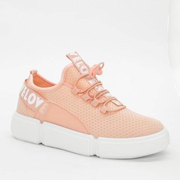 Pantofi Sport Dama AD135 Pink Mix Feel