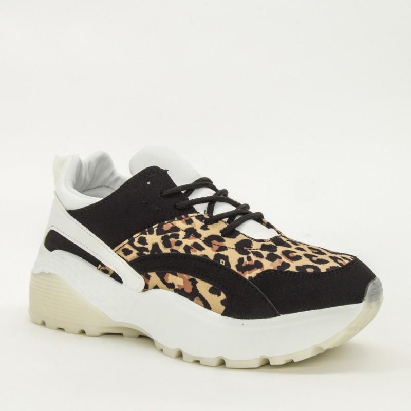 Pantofi Sport Dama YKQ39 Leopard Mei