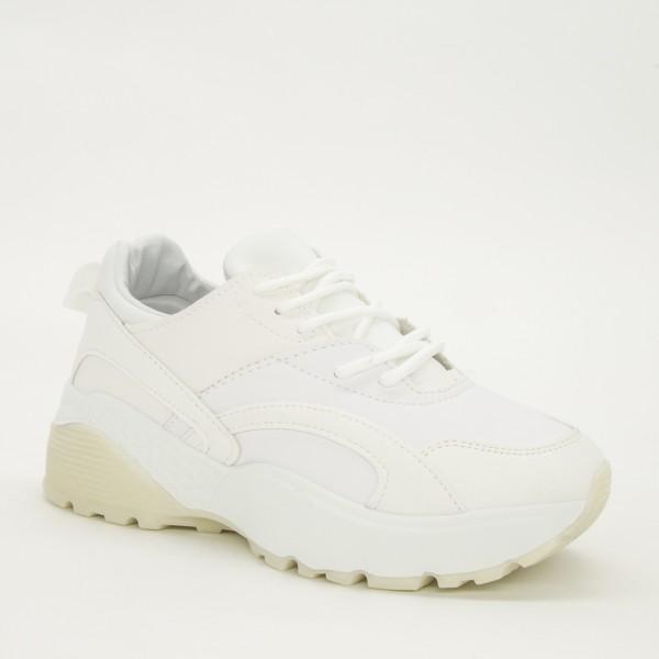 Pantofi Sport Dama YKQ39 White Mei