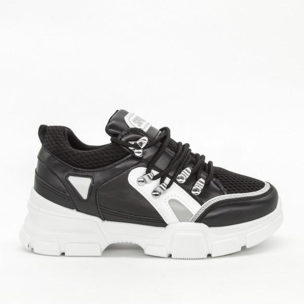 Pantofi Sport Dama YKQ35 Black Mei