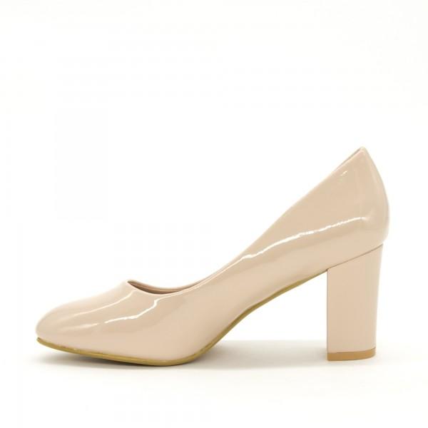 Pantofi cu Toc XD126 Beige Mei