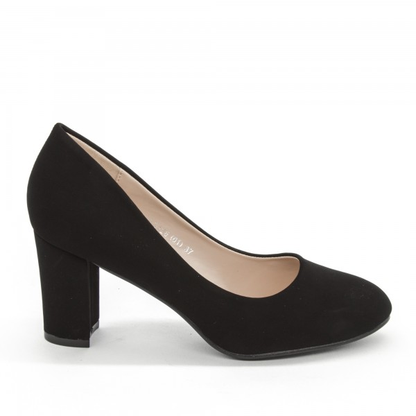 Pantofi cu Toc XD126 Black Mei