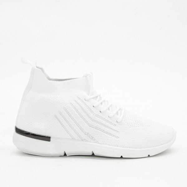 Pantofi Sport Dama D012 White Mei