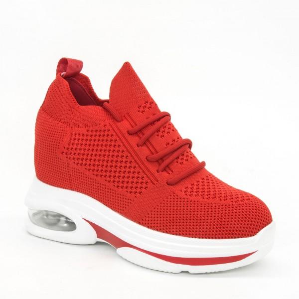 Pantofi Sport cu Platforma Dama CJL9 Red Mei