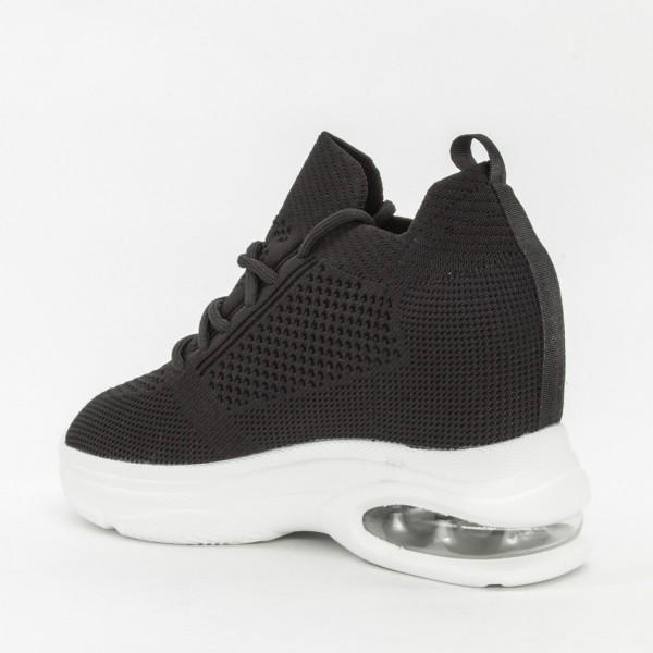 Pantofi Sport cu Platforma Dama CJL9 Black Mei