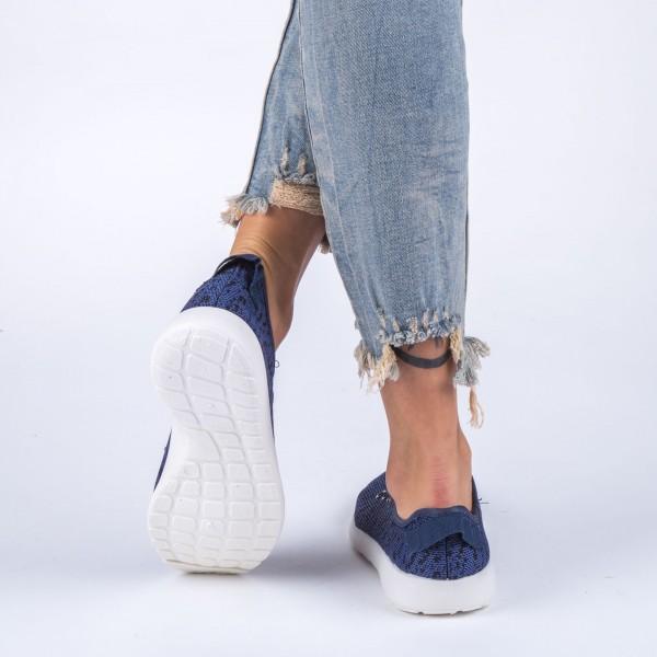 Pantofi Sport Dama ZJ26 Navy Sport Fashion