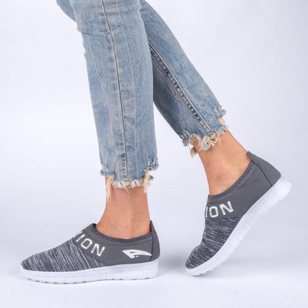 Pantofi Sport Dama 390 Grey Sport Fashion