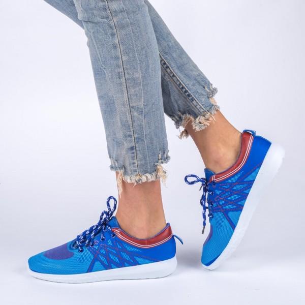 Pantofi Sport Dama ZJ29 Royal Blue Sport Fashion