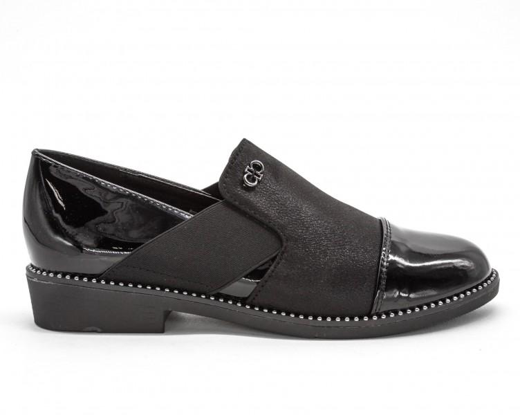 Pantofi Casual Dama 333-2 Black Lady Star