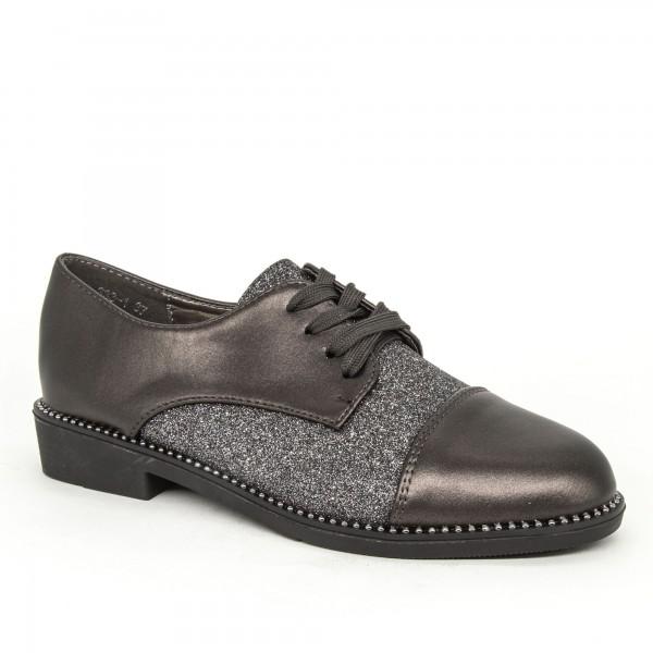 Pantofi Casual Dama 333-1 Guncolor Lady Star
