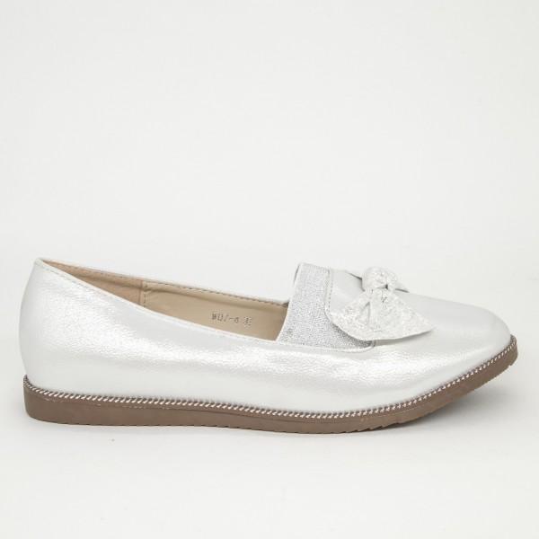 Balerini Dama W07-4 White-Grey Lady Star