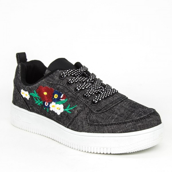 Pantofi Sport Dama F365-1 Black Sport Fashion