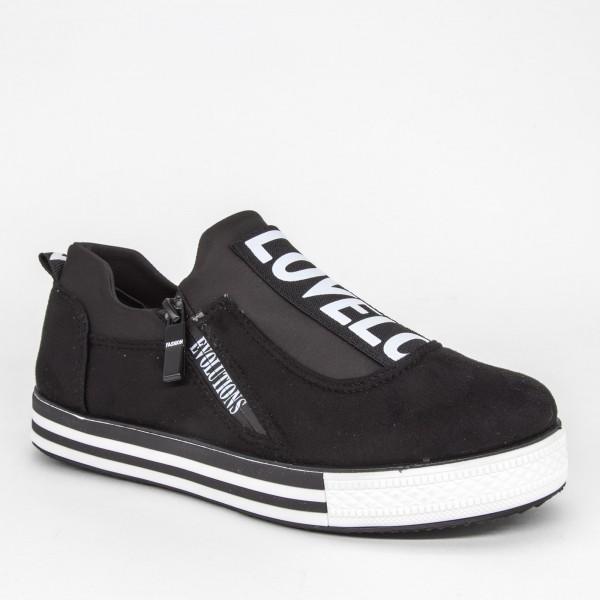 Pantofi Sport Dama X2835 Black Se7En