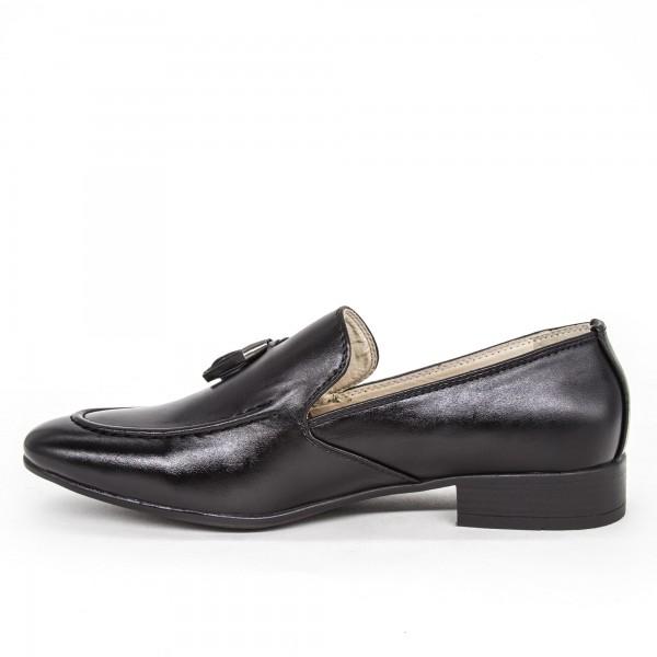 Pantofi Baieti A02 Black Oskon