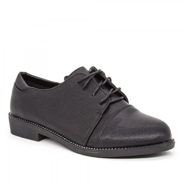 Pantofi Casual Dama Q9 Black Rodiana