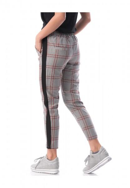 Pantaloni Dama 6976 Gri-Visiniu Adrom