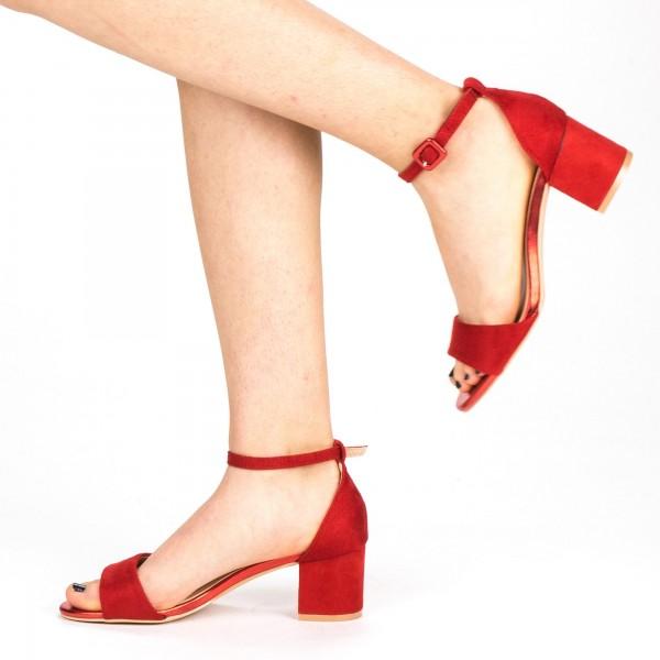 Sandale Dama cu Toc YBS37 Red Mei