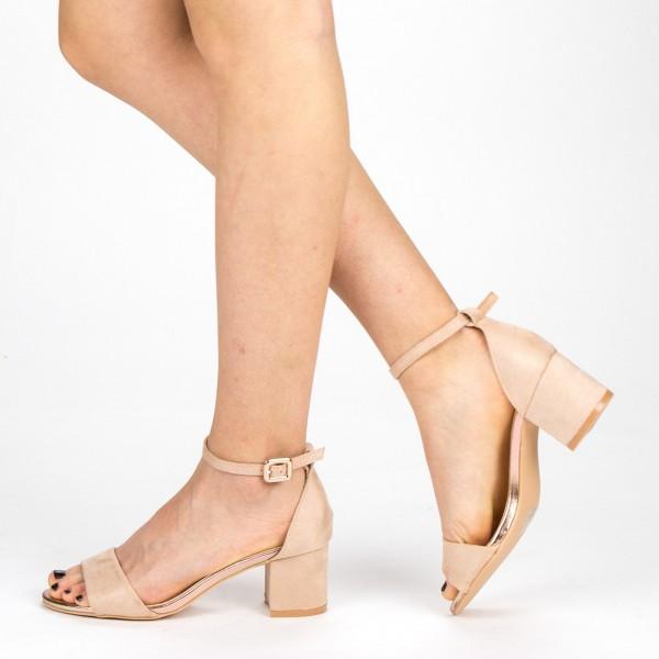 Sandale Dama cu Toc YBS37 Pink Mei