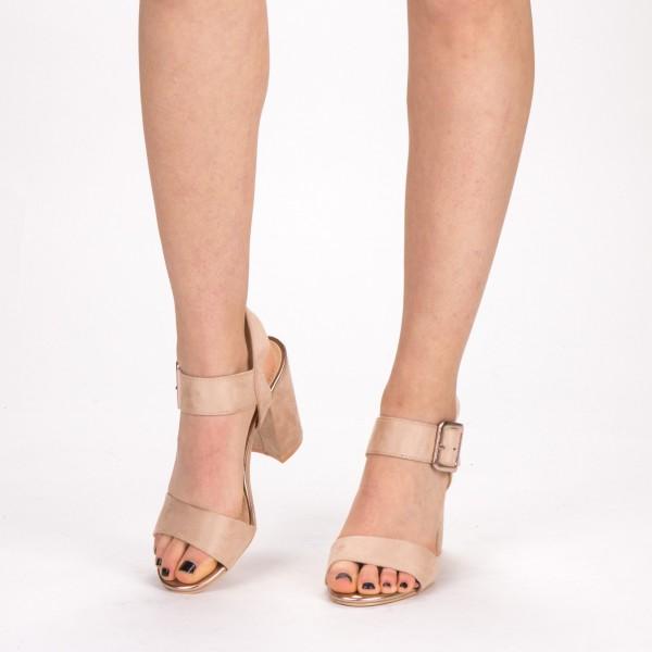 Sandale Dama cu Toc YBS36 Pink Mei