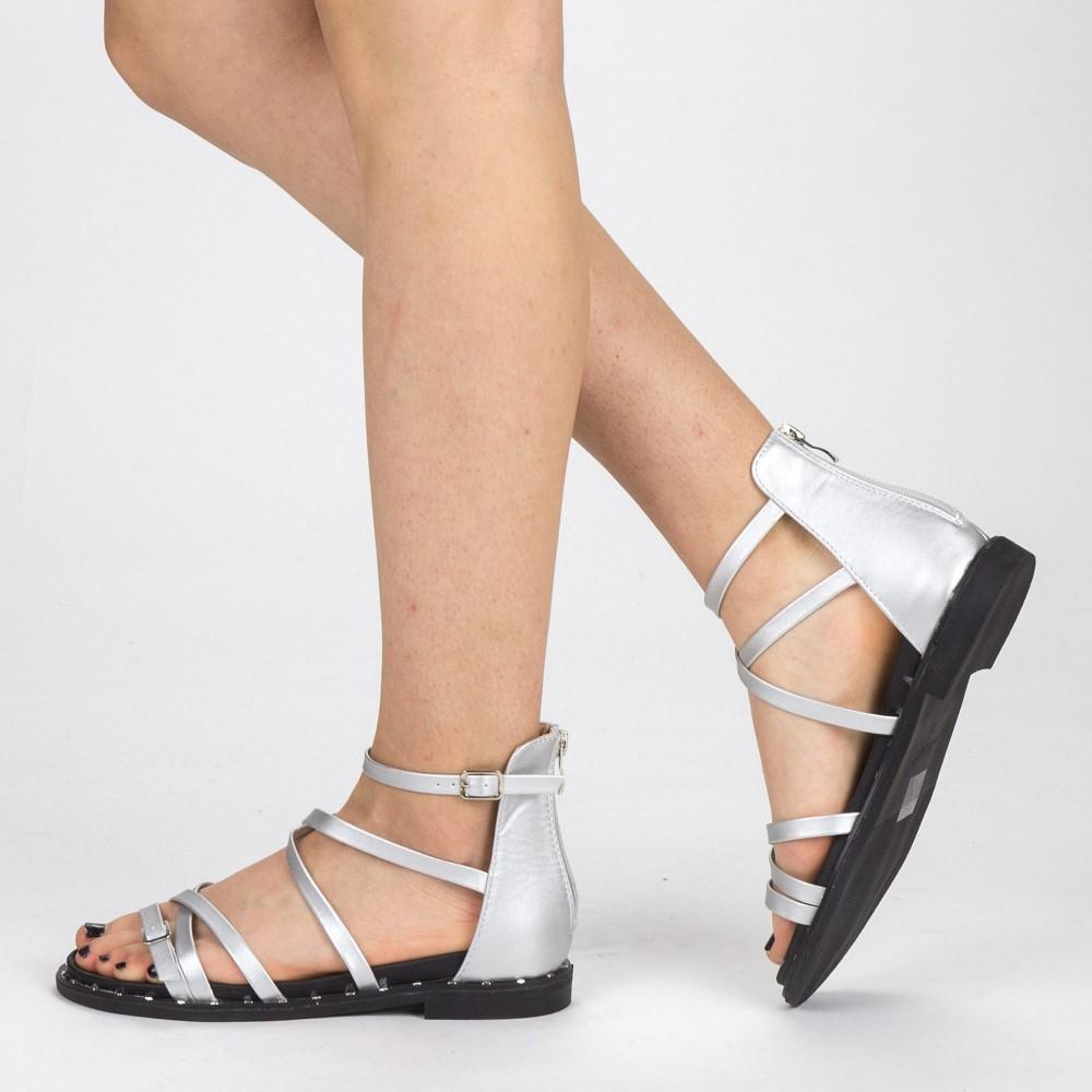 Sandale Dama QZL228 Silver Mei