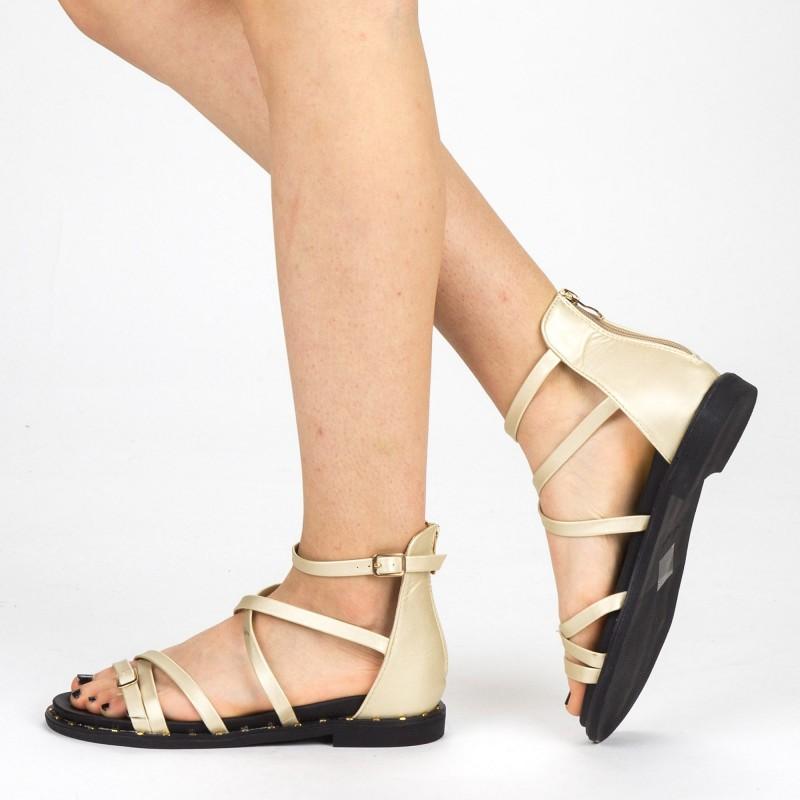 Sandale Dama QZL228 Gold Mei
