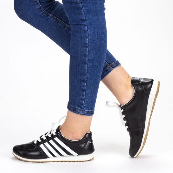 Pantofi Sport Dama F02 Black Sport Fashion
