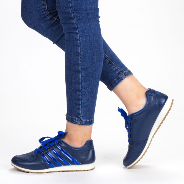Pantofi Sport Dama F02 Blue Sport Fashion