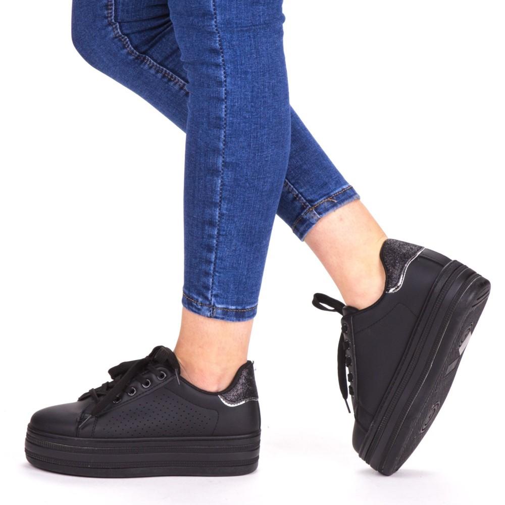 Pantofi Sport Dama GB67 Black Mei