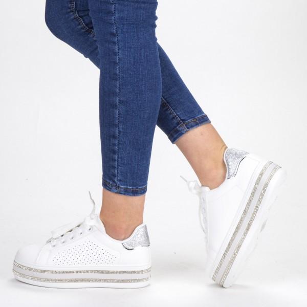 Pantofi Sport Dama GB67 White Mei