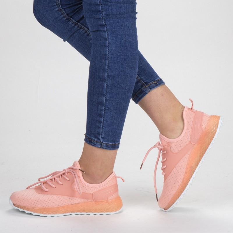 Pantofi Sport Dama YKQ62 Pink Mei