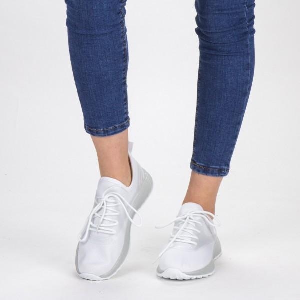 Pantofi Sport Dama YKQ62 White Mei