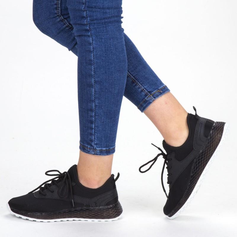 Pantofi Sport Dama YKQ62 Black Mei