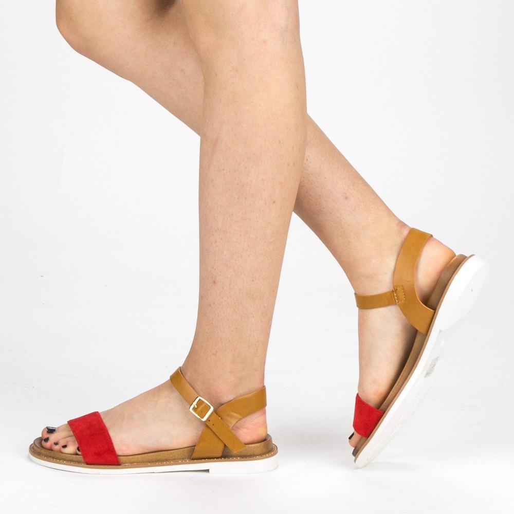 Sandale Dama cu Toc FD51 Red Mei