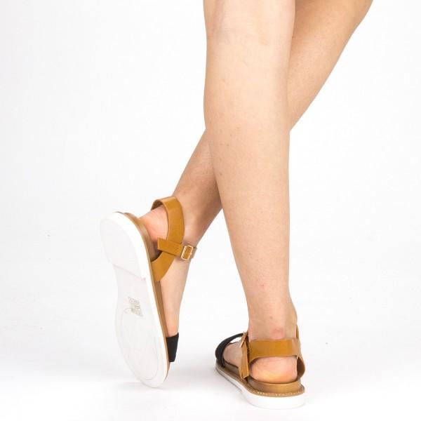 Sandale Dama cu Toc FD51 Black Mei