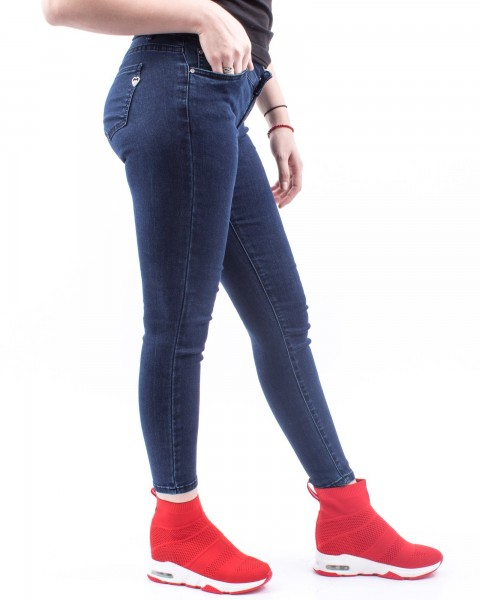 Pantaloni Dama HP5490 Albastru