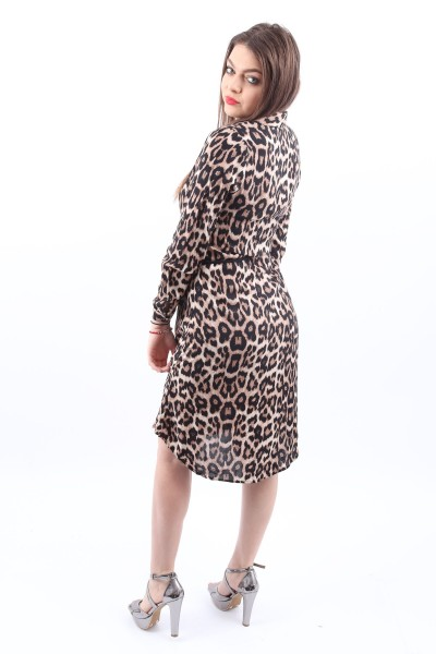 Camasa Dama HC140 Leopard Mei