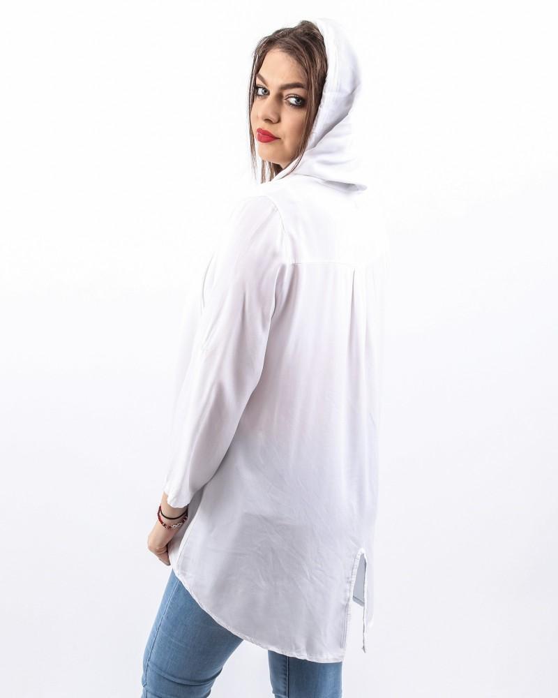 Bluza Dama HB25182 Alb Mei