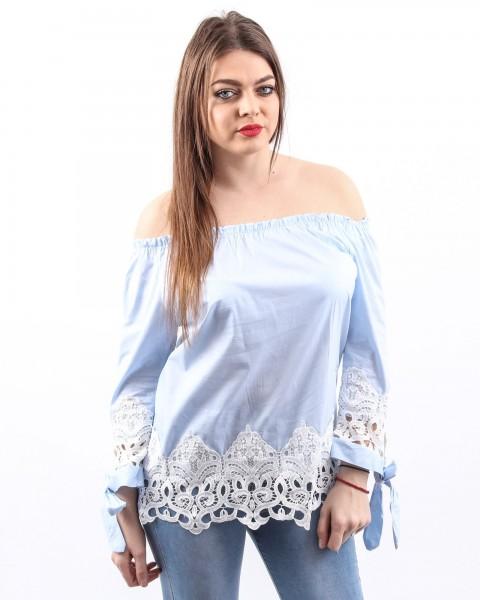 Bluza Dama HB2900 Albastru Mei