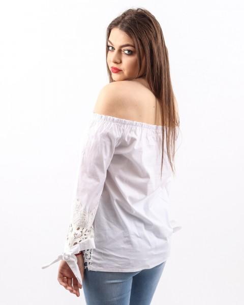 Bluza Dama HB2900 Alb Mei