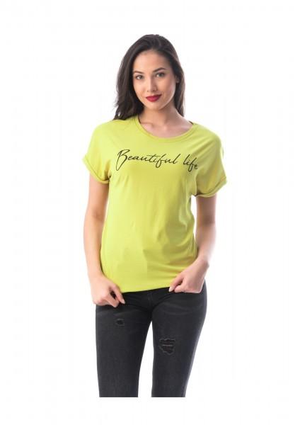 Tricou Dama 8051-2 Mustar Adrom