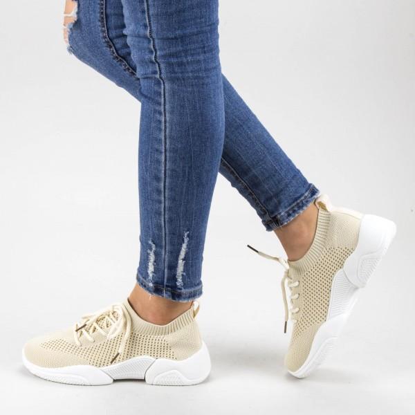Pantofi Sport Dama 661 Beige Mei