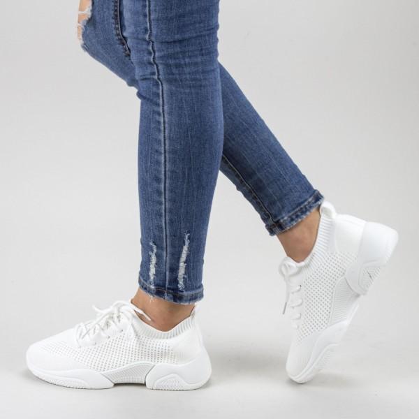 Pantofi Sport Dama 661 White Mei