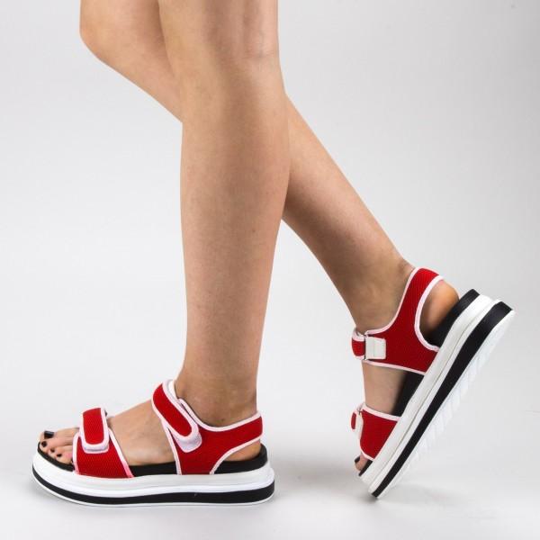 Sandale Dama cu Platforma GH112 Red Mei