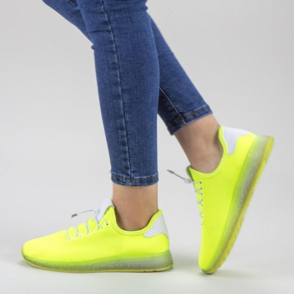 Pantofi Sport Dama GB66 Yellow Mei