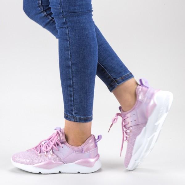 Pantofi Sport Dama 20-692 Purple Wonex