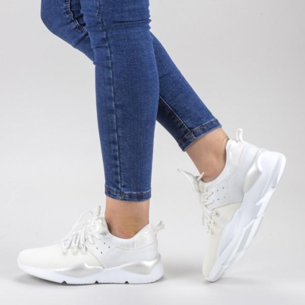 Pantofi Sport Dama 20-692 White Wonex