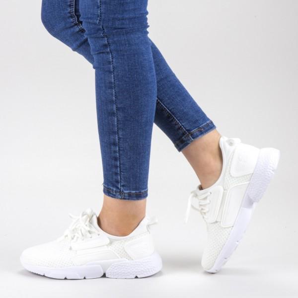 Pantofi Sport Dama 20-690 White Wonex