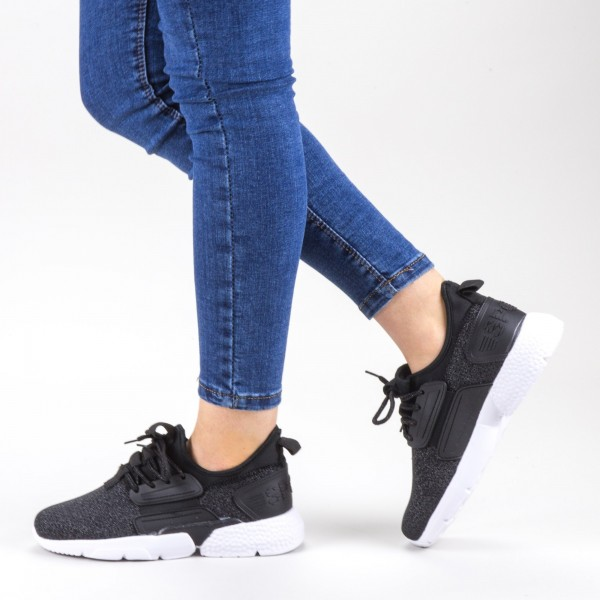 Pantofi Sport Dama 20-690 Black Wonex