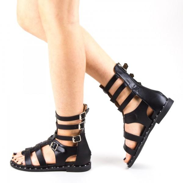 Sandale Dama QZL235 Black Mei